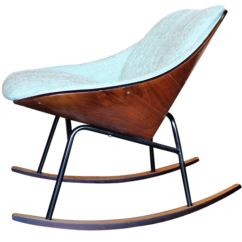 Adrian Pearsall Rocking Chair Party Table And Covers For Sale By Plycraft At 1stdibs