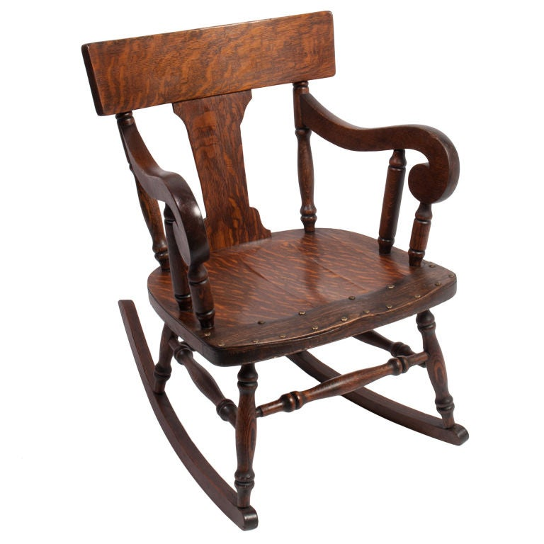 Antique Rocking Chair at 1stdibs