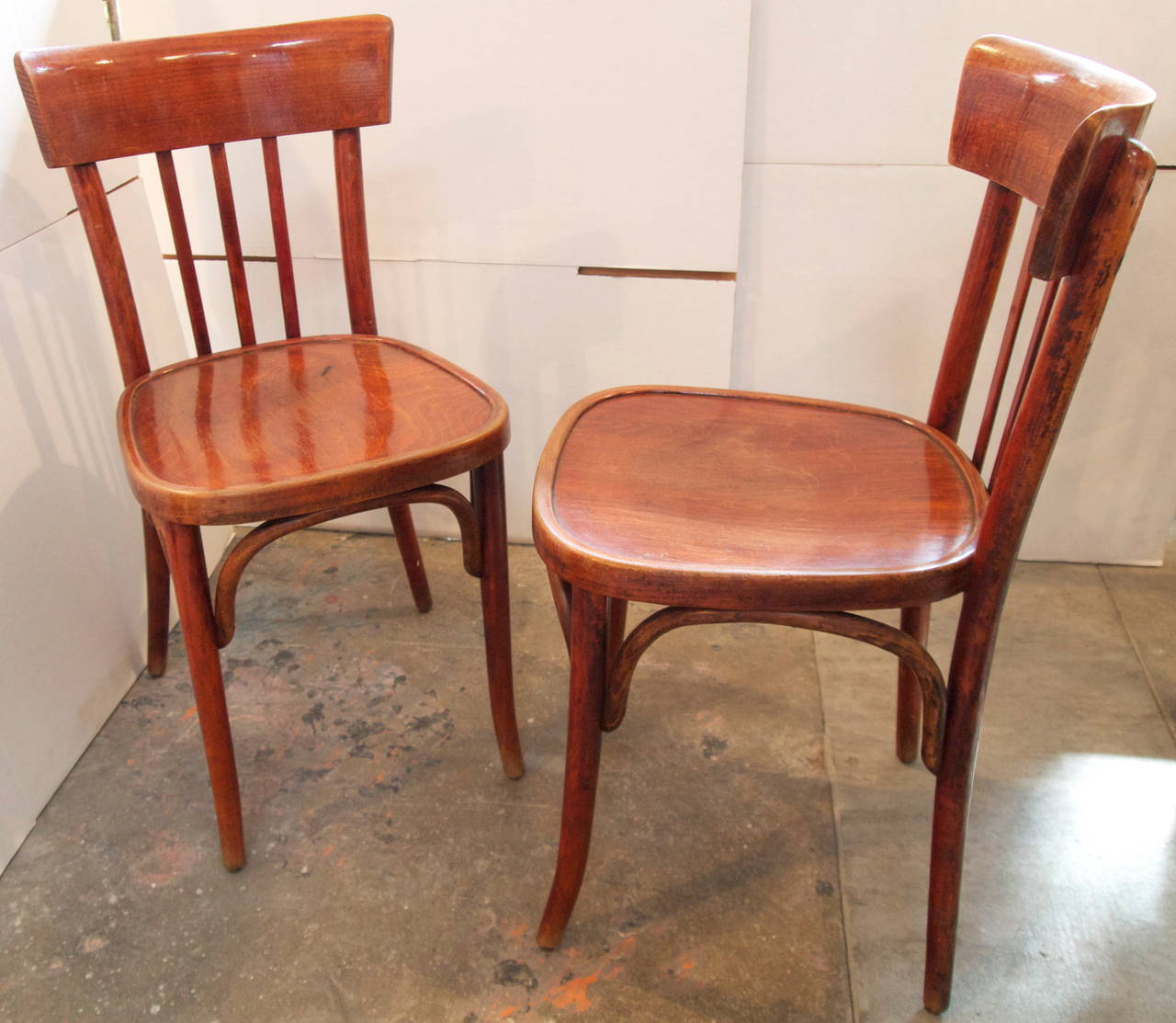 french bentwood cafe chairs wooden adirondack on sale set of eight bistro at 1stdibs