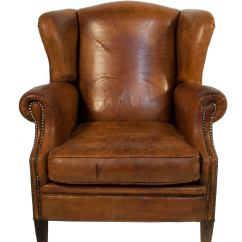 Leather Wingback Chairs Chair Covers Hong Kong At 1stdibs