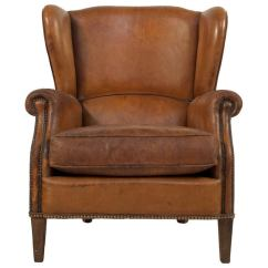 Dining Chair Styles Antique Design Patent Leather Wingback At 1stdibs