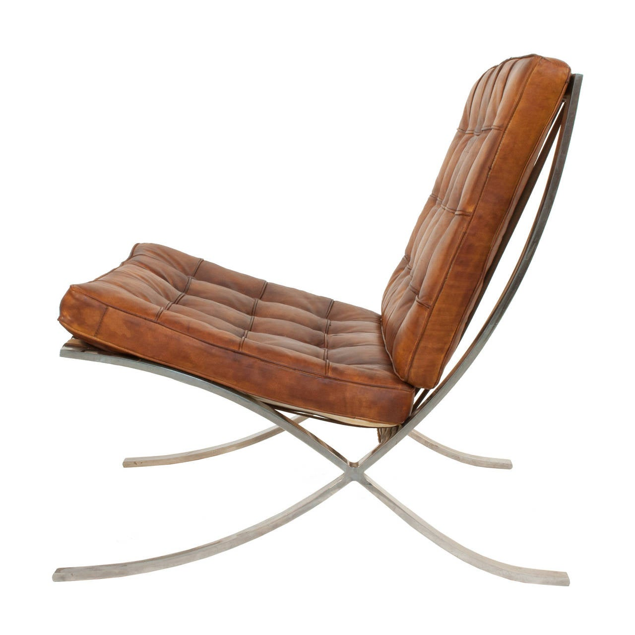 barcelona chair used chairs to watch tv by ludwig mies van der rohe at 1stdibs