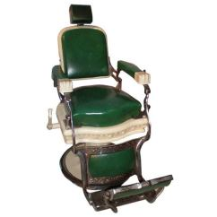Koken Barber Chair Headrest Babys R Us Rocking By Ernest Koken, From Empire State Building For Sale At 1stdibs