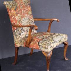 Oversized Upholstered Chair Animal Print Parson Slipcovers Large English Arm Gainsborough Style