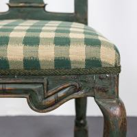 Single Baroque Chair, 18th Century, Sweden For Sale at 1stdibs