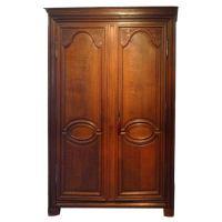 Linen Cabinet in Oak at 1stdibs