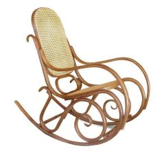 Thonet Chair Styles Diy Fabric High Bentwood Rocking Chair, Signed At 1stdibs