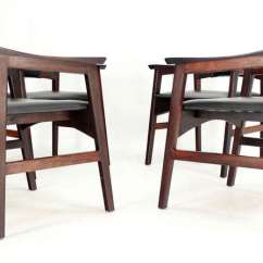 Erik Buck Chairs Patio Sale Set Of Four Danish Mid-century Modern Rosewood Dining For At 1stdibs