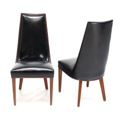 Tall Dining Chairs Restoration Hardware Copenhagen Egg Chair Set Of Six Back High Quality Leather
