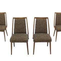 Mid Century Modern Side Chair Plastic Covers Bunnings Set Of Four Dining Chairs New