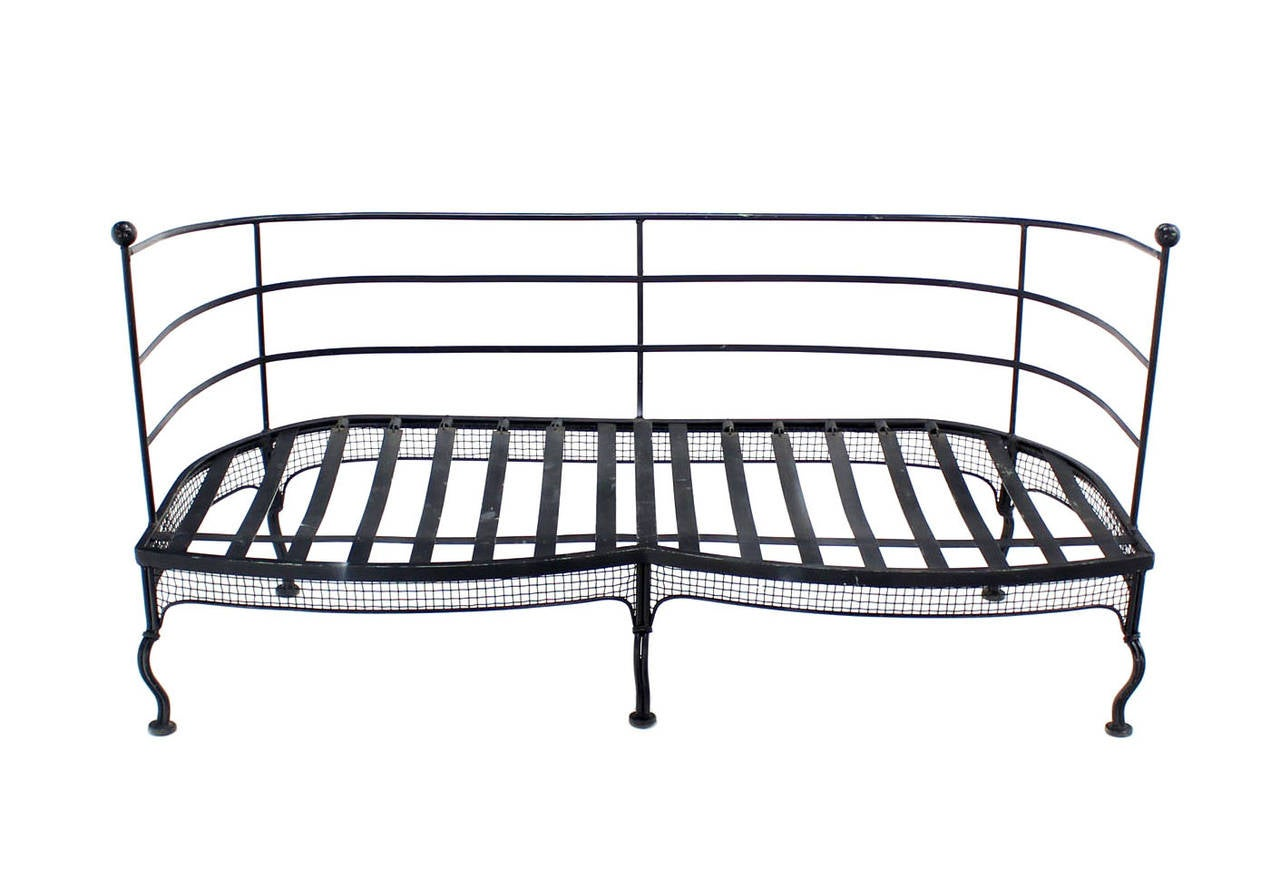 wrought iron sofa set in pune deals toronto or love seat frame at 1stdibs