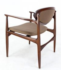 Extra-Wide Mid-Century Danish Modern Lounge Chair by Selig ...
