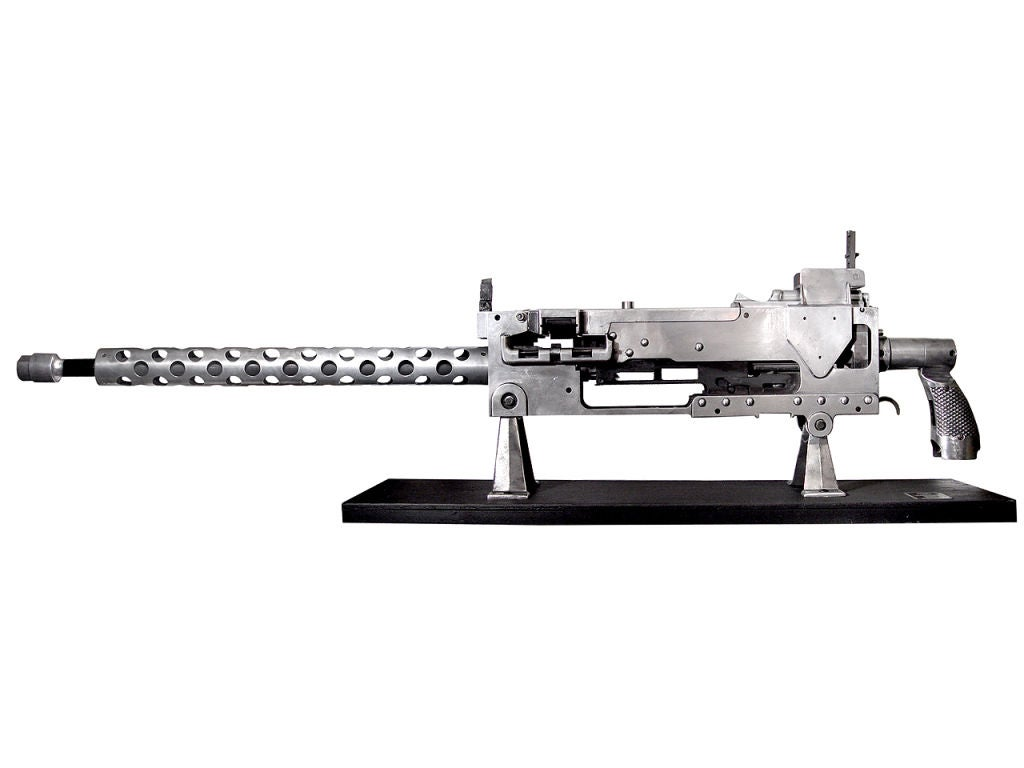 Oversize Model Machine Gun