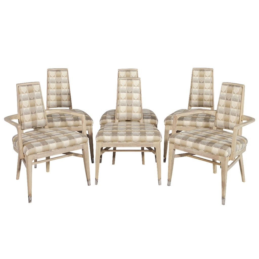 set of six dining chairs for sale chair cover hire newcastle upon tyne mid century modern at