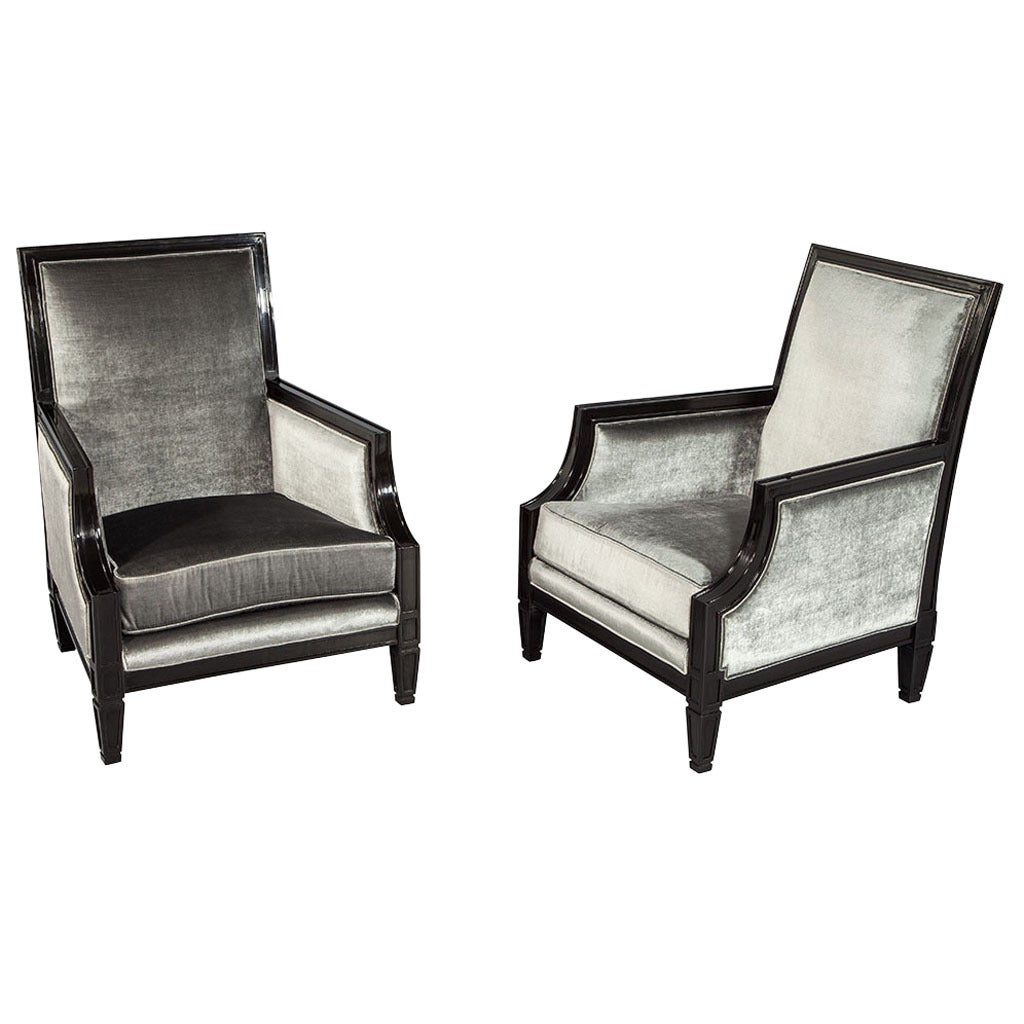 Accent Chairs Sale Quotx Quot Back Accent Chairs For Sale At 1stdibs