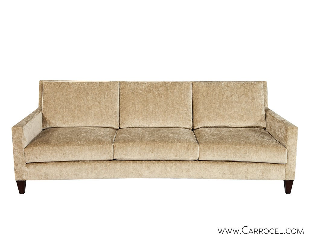 baker track arm sofa microfiber ikea mason for sale at 1stdibs