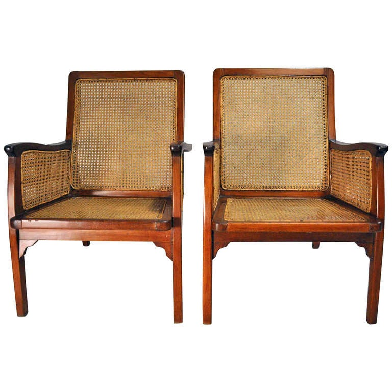 british colonial chair walgreens transport set of chairs with rattan seats at 1stdibs for sale