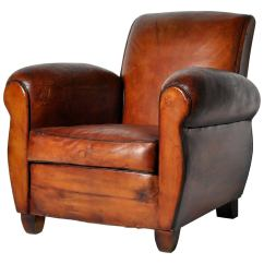 French Club Chairs For Sale Jaxx Bean Bag Vintage Leather Chair At 1stdibs