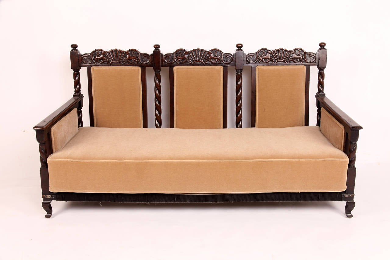 colonial sofa sets india threshold patio cover 3 piece british living room suite at 1stdibs
