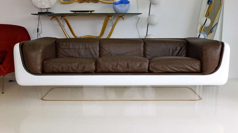 steelcase sofa platner sleeper with chaise and storage warren space pod for at 1stdibs age sale