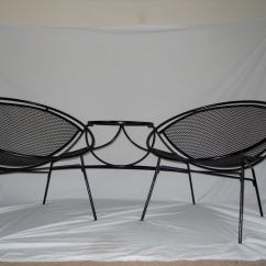 Tete A Chair Outdoor Where To Buy Fold Up Chairs Vintage By Salterini At 1stdibs