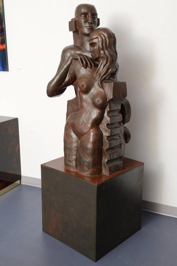 """couple"" Sculpture 1stdibs"