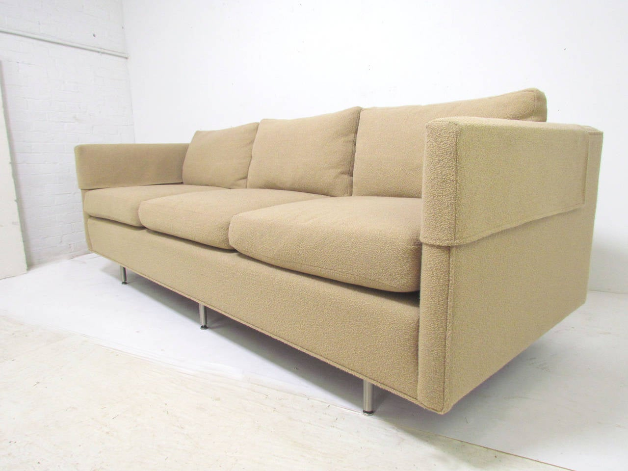 chair design research process tuxedo three seat quotcambridge quot sofa with down cushions by