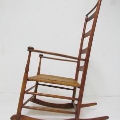 Vintage Rocking Chairs Portable Walmart Antique Shaker No 7 Chair With Shawl Bar At 1stdibs