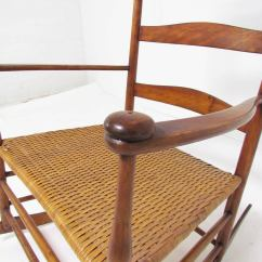 Hans Wegner Rocking Chair Latest Design Of Dining Table And Chairs Antique Shaker No. 7 With Shawl Bar At 1stdibs