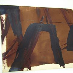 Sofa Paintings Abstract Extra Deep Couch Size Painting Signed Ah D 1969 At 1stdibs