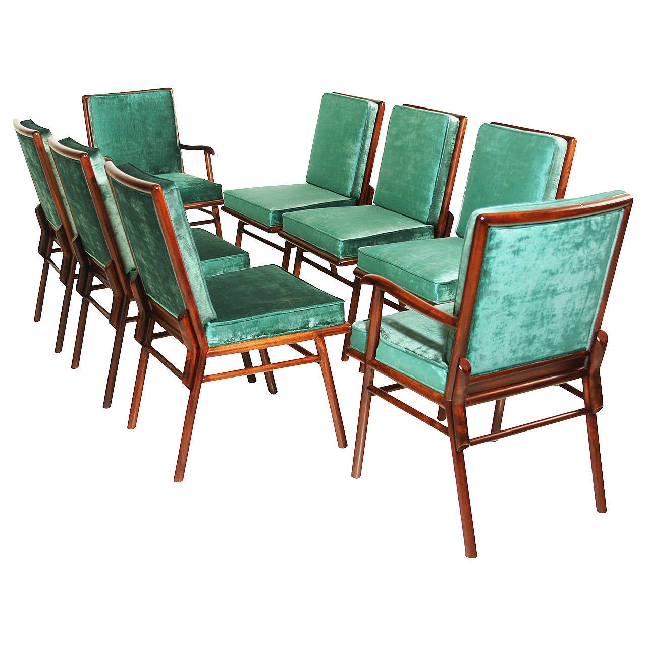 set of 8 dining chairs lift dayton ohio robsjohn gibbings for widdicomb at