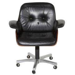Vintage Office Chairs Relax The Back Mobility Lift Chair In Rosewood And Black Leather At 1stdibs