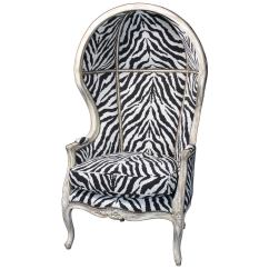 Zebra Print Chairs For Sale Lightweight Beach Uk Porter 39s Chair In Tapestry At 1stdibs