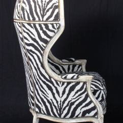 Zebra Print Chairs For Sale 18 Doll Table And Chair Set Porter 39s In Tapestry At 1stdibs