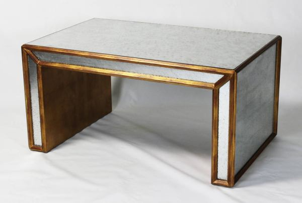 Gold Leaf Cocktail Table
