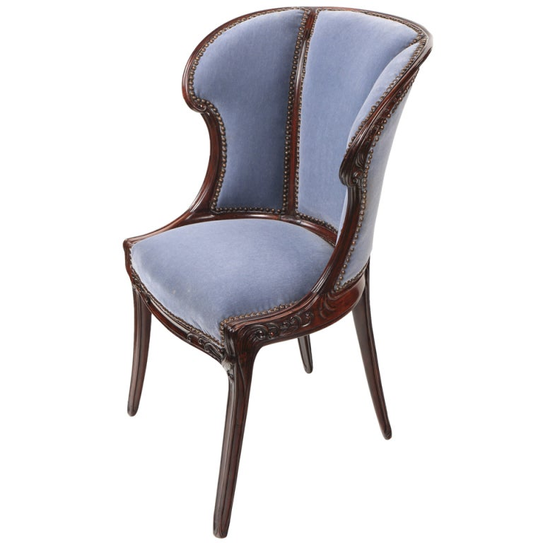 French art Nouveau Arm Chair by, Eugene Gaillard at 1stdibs