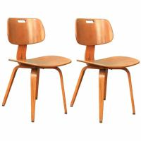 Six Mid Century Chairs by Thonet at 1stdibs