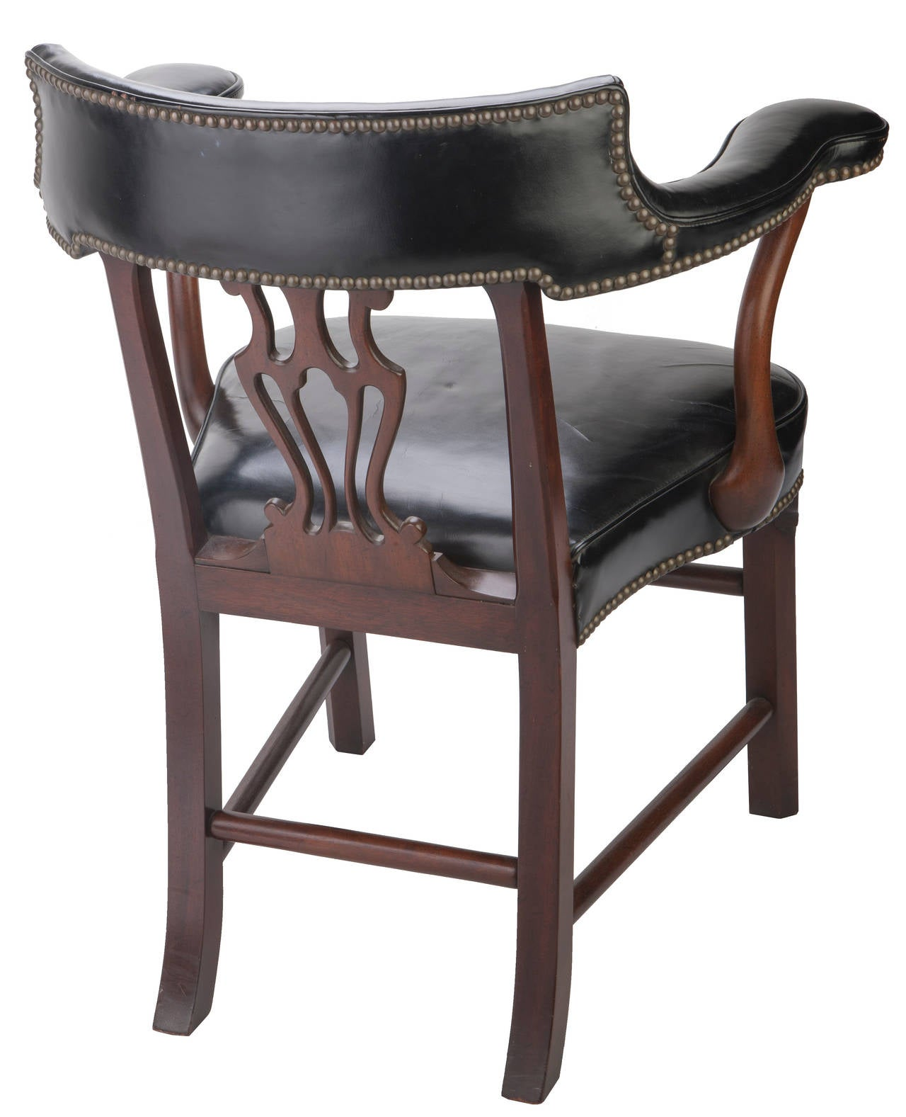 Bankers Chairs Kittinger Leather Bankers 39 Chairs At 1stdibs
