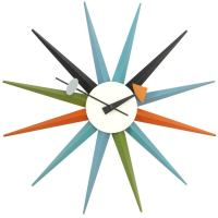 The Sunburst Clock by George Nelson at 1stdibs