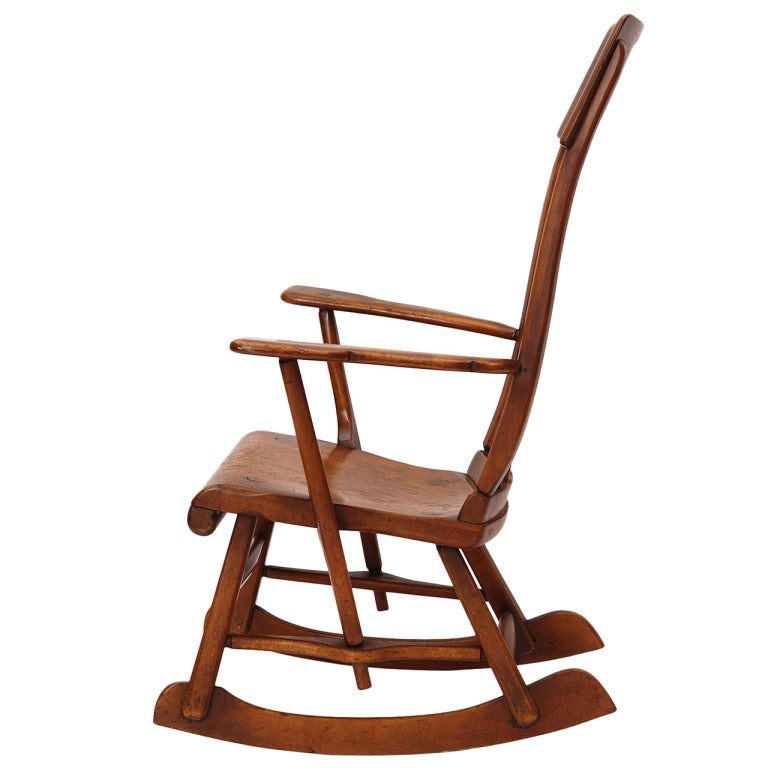 sikes chair company barrel table and chairs maple rocking by for sale at 1stdibs