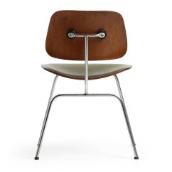Eames Leather Chair Dining Industrial Style Chairs Dcm By Charles And Ray For Sale At 1stdibs
