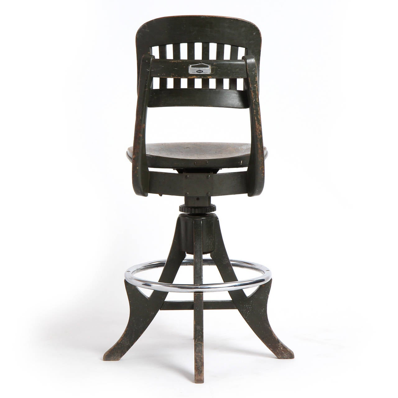 sikes chair company papasan world market adjustable swiveling stool by for sale at 1stdibs