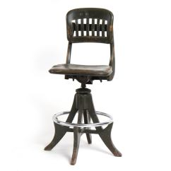 Sikes Chair Company Gym Weight Loss Adjustable Swiveling Stool By For Sale At 1stdibs
