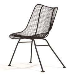 Wire Dining Chairs Inglesina Fast Table Chair Black Mesh By Woodard At 1stdibs