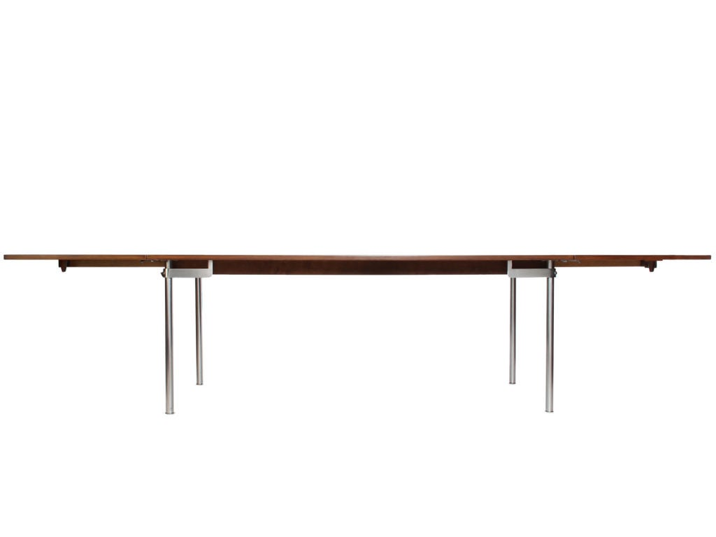 Rosewood Dining Table By Hans Wegner For Sale At 1stdibs