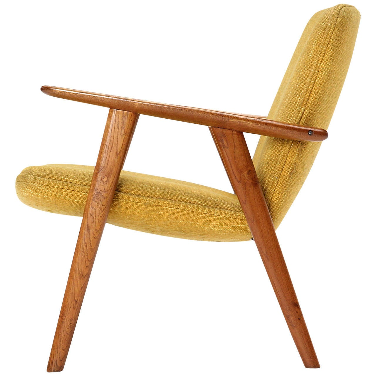 Reading Chairs Oak Reading Chair By Hans J Wegner For Sale At 1stdibs