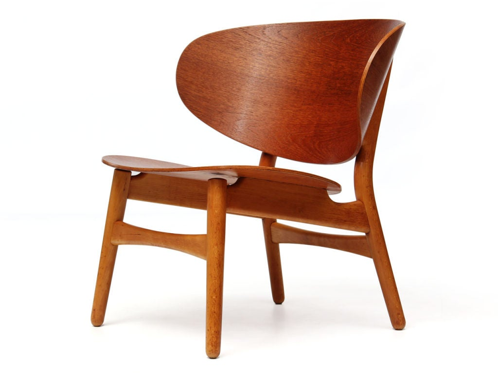 hans wegner the chair patio glides rectangular shell by j for sale at 1stdibs
