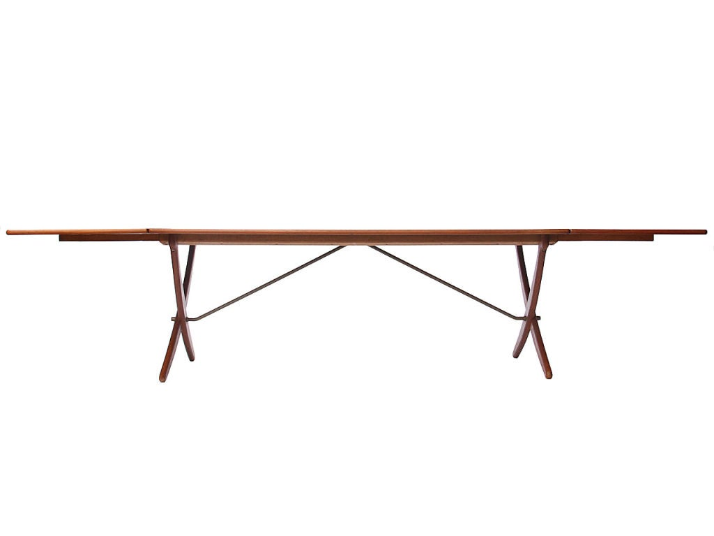 Drop Leaf Dining Table By Hans J Wegner For Sale At 1stdibs