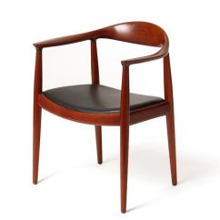 Hans Wegner The Chair Best Office Desk Round By J At 1stdibs