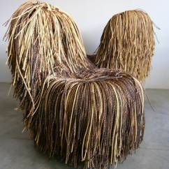 Campana Brothers Favela Chair Covers With Arms Wedding Jocular Pair Of Shaggy Cord Chairs In The Style